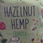 Hazelnut  Hemp granola