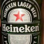 Heineken Lager beer