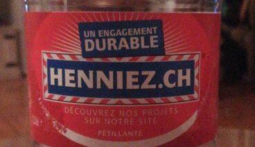 Henniez Gazeuse Rouge