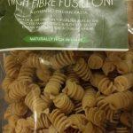 High fibre fusilloni