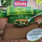 Hilcona Veggie Gemüse medaillons Spinat