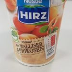 Hirz Avec Apricots Du Valais Joghurt