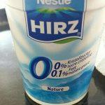 Hirz Yog. 0% Nature 180G