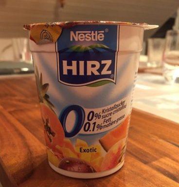 Hirz Yogourt Exotic 0%
