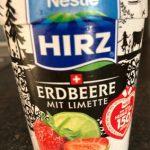 Hirz Yogourt fraise lime