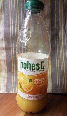 Hohes C Orange 100% Jus