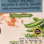 Honey Smoked Salmon & Lentil Salad