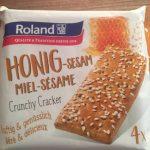 Honig Sesam Miel Sesam. crunchy Craker