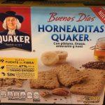 Horneaditas Quaker con plátano
