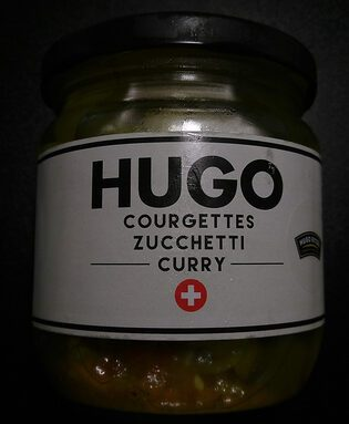 Hugo courgettes curry