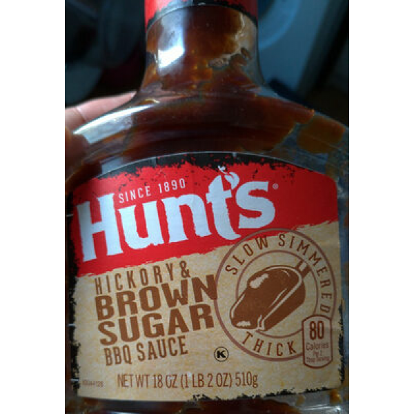 Hunt's Hickory & Brown Sugar BBQ Sauce