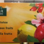 Infusion aux fruits