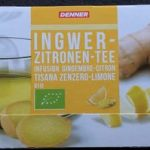 Infusion gingembre-citron