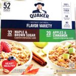Instant Oatmeal Flavor Variety