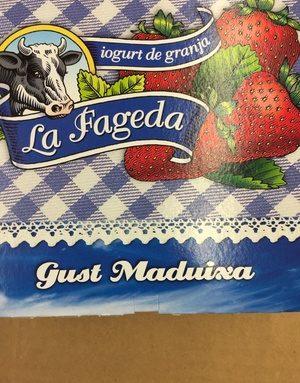 Iogurt La Fageda Sabor Maduixa