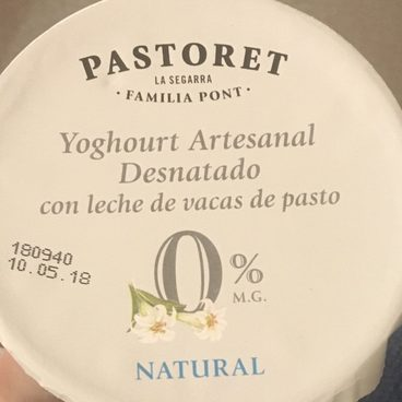 Iogurt Pastoret Natural 0%