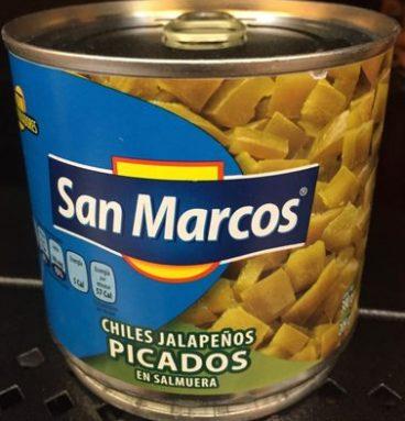 Jalapeños picados San Marcos