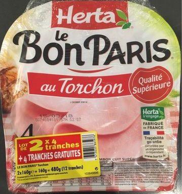 Jambon Le Bon Paris au torchon