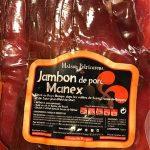 Jambon de porc Manex