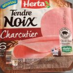 Jambon tendre noix 6 tranches