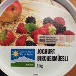 Joghurt Birchermüesli