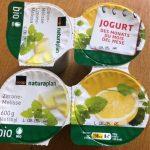Jogurt citron-mélisse