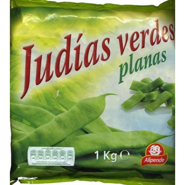 Judías verdes planas