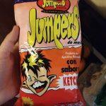 Jumpers sabor a ketchup