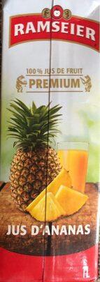 Jus d'ananas premium