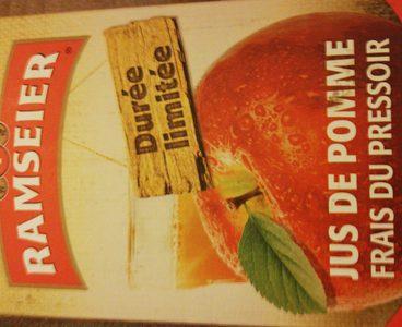 Jus de pomme frais du pressoir