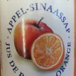 Jus de pomme orange