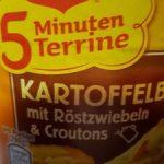 Kartoffelbrei mit Röstzwiebeln & Croutons