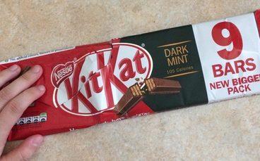 Kit Kat Dark Mint