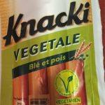 Knacki végétale blé et pois