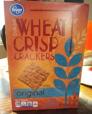 Kroger Baked Wheat Crisp Crackers