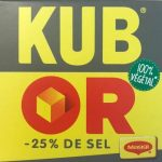 Kub Or (-25% de sel)