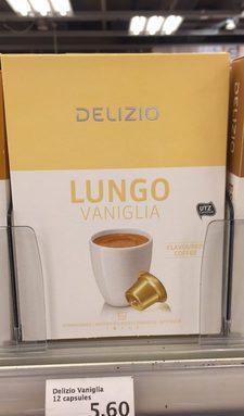 LUNGO VANIGLIA FLAVOURED COFFEE