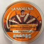 La Morena Chiles Jalapeños Rellenos de queso crema