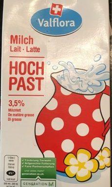 Lait Milch Latte - Hoch past