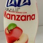 Lala Yoghurt bebible con Manzana
