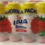 Lala Yoghurt de fresa 8 pack