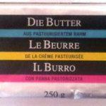 Le Beurre de la Crème Pasteurisée.