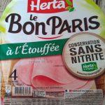 Le Bon Paris à l'étouffée conservation sans nitrite