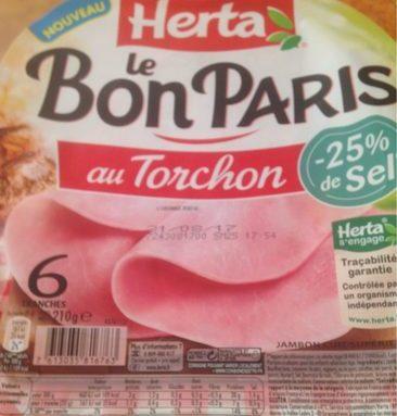 Le bon Paris au torchon -25% de sel