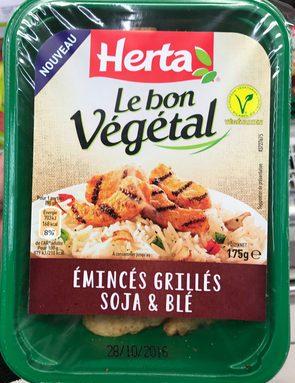 Le bon Végétal Émincés grillés Soja & Blé