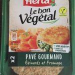 Le bon végétal épinards et fromage