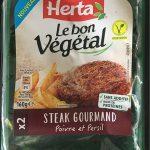 Le bon végétal - Steak gourmand
