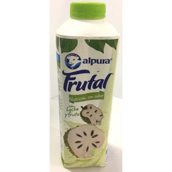 Leche Alpura Frutal sabor Guanábana