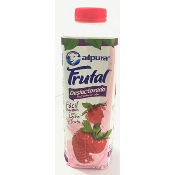 Leche Alpura Frutal sabor fresa