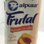 Leche Alpura frutal sabor durazno